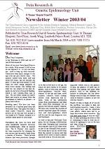 Newsletter Winter 2003/2004