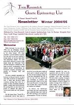 Newsletter Winter 2004/2005