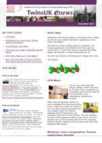 E-Newsletter Dec 2011