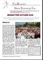 Newsletter Autumn 2006