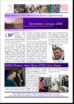 Newsletter Autumn 2008
