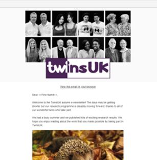 E-newsletter October 2019