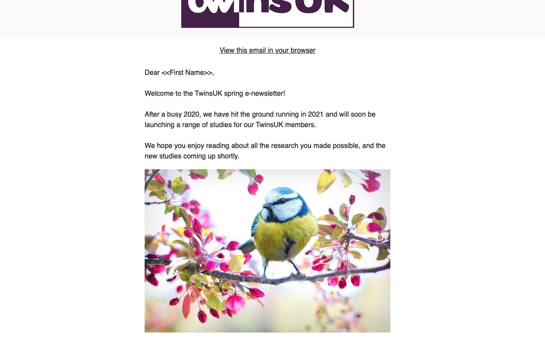 E-Newsletter April 2021