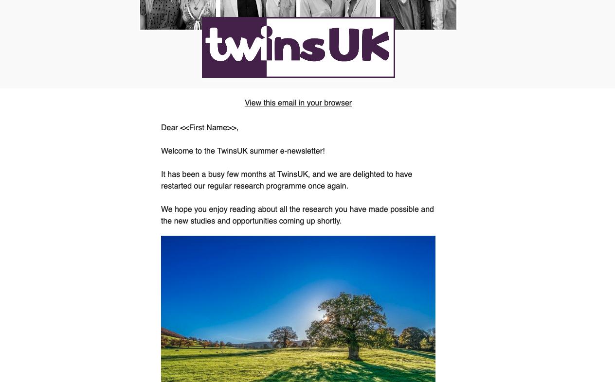 E-Newsletter August 2021